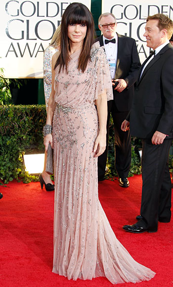 Sandra Bullock's red carpet Style