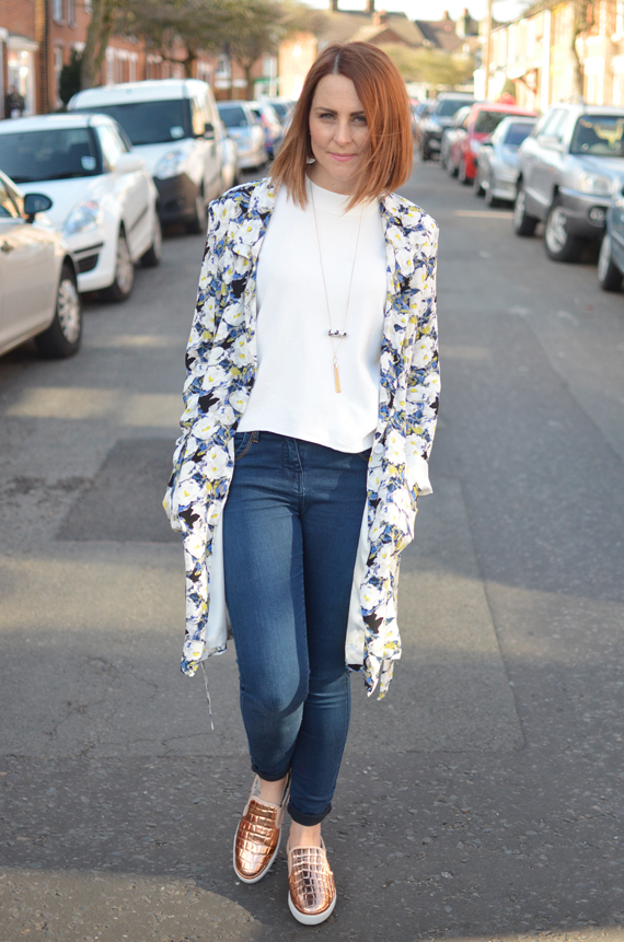 The Floral Trench - Outfit Post - Bang On Style