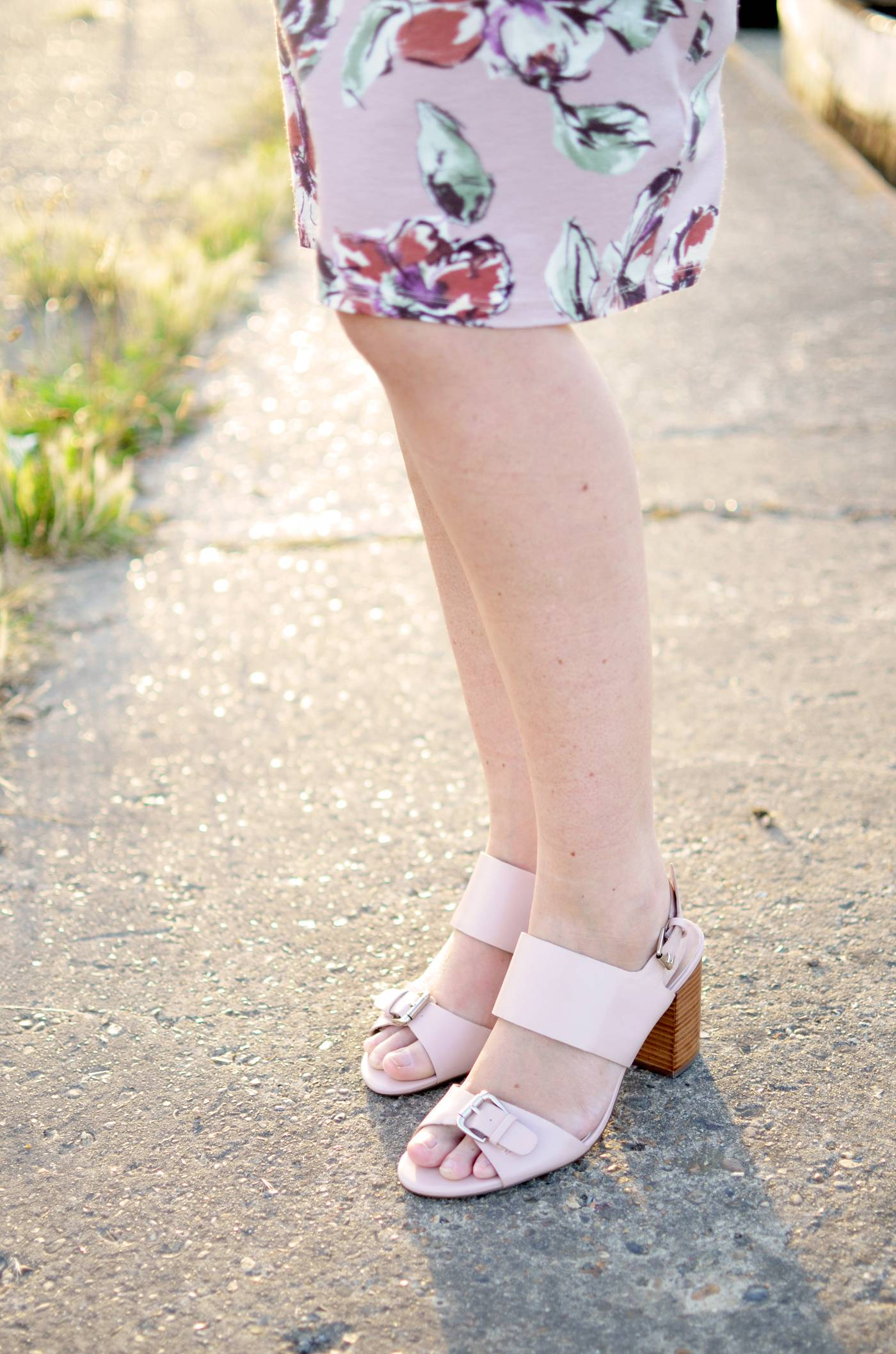 F&F nude sandals