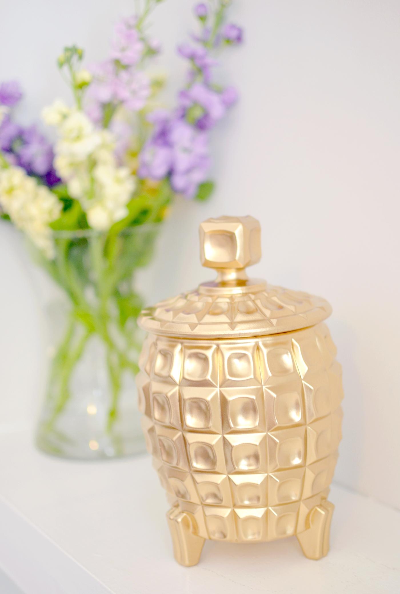 Gold Pineapple Ice Bucket DIY