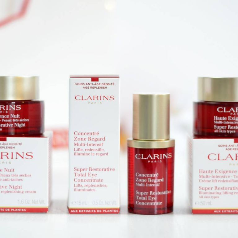 CLARINS SKINCARE REVIEW