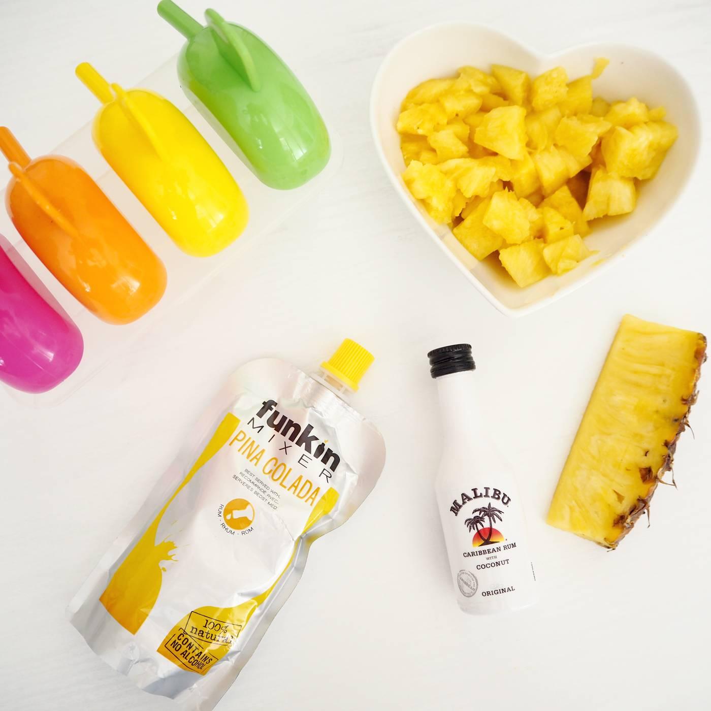 Pina Colada Ice Lolly Recipe