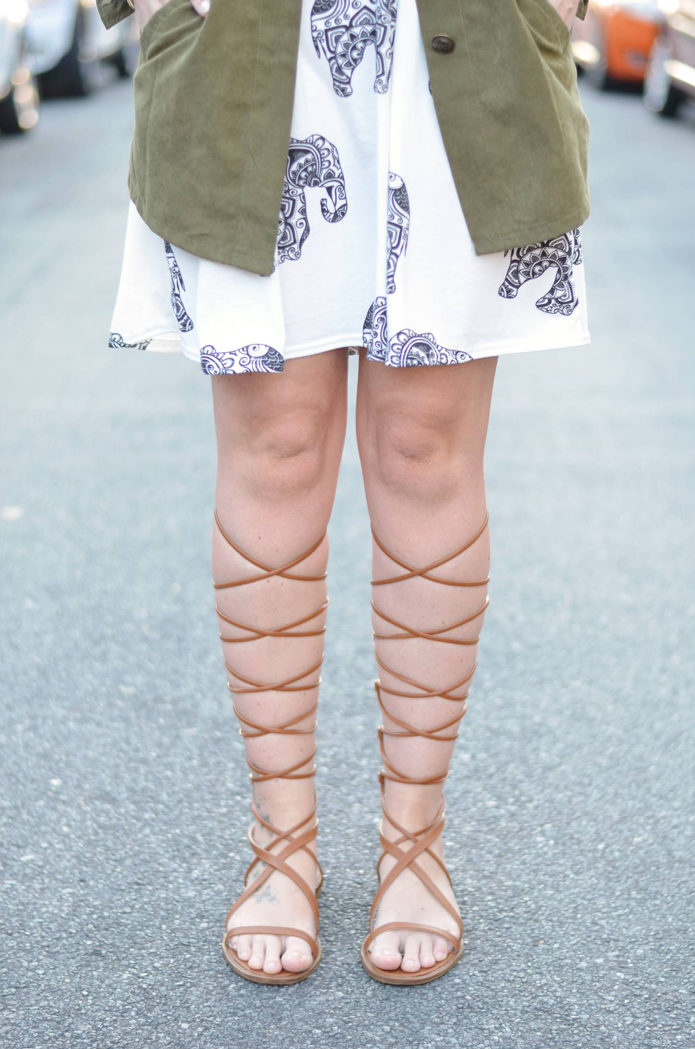lace up gladiators tan missguided