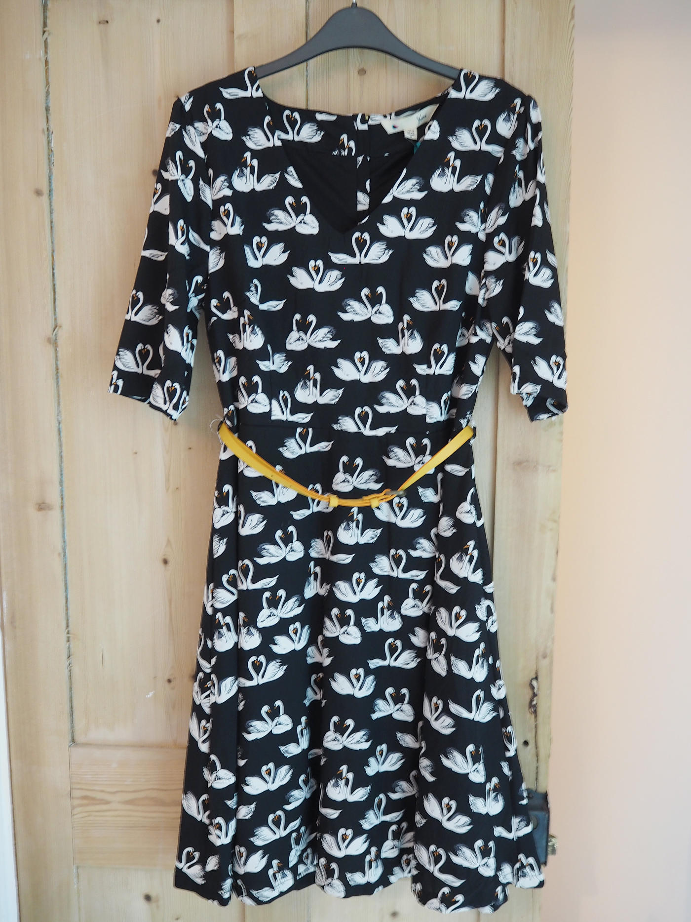 YUMI SWAN DRESS