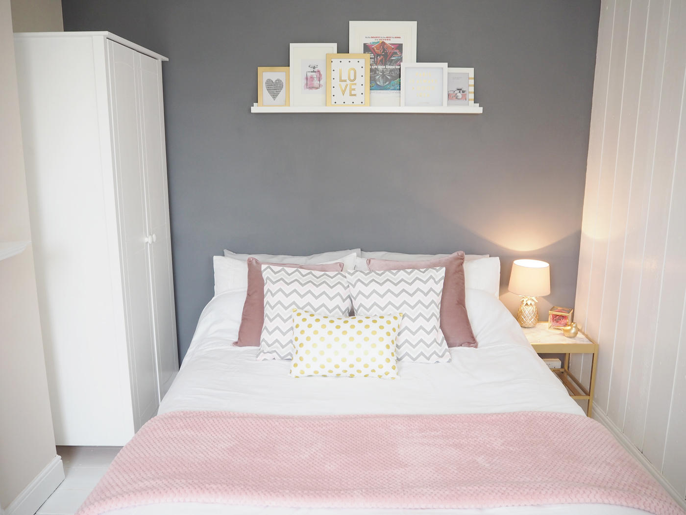 Dusty Pink And Grey Bedroom Style Mummy Monkeys