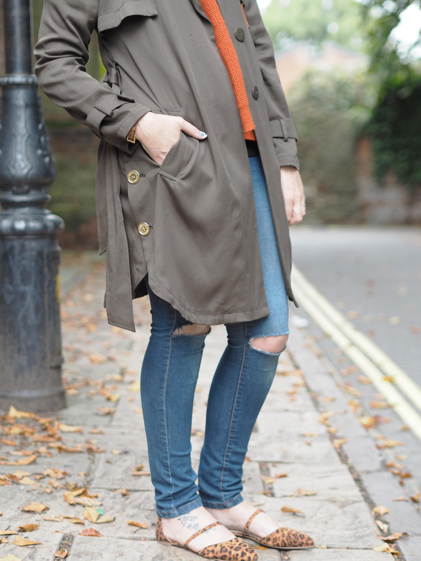 biba trench coat