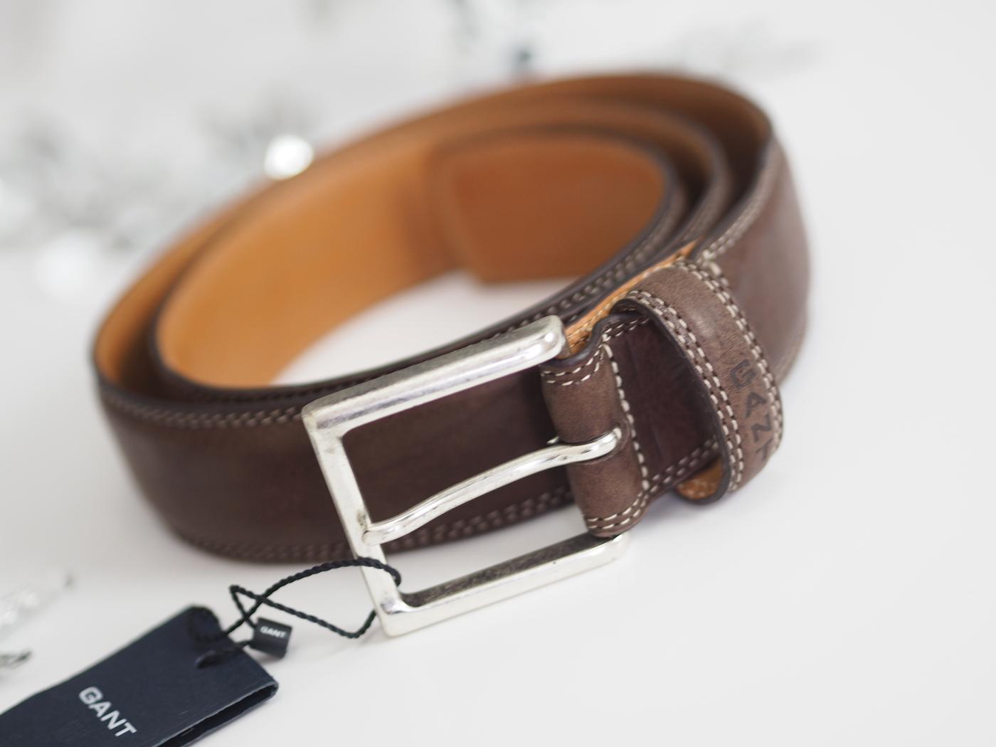 gant mens belt