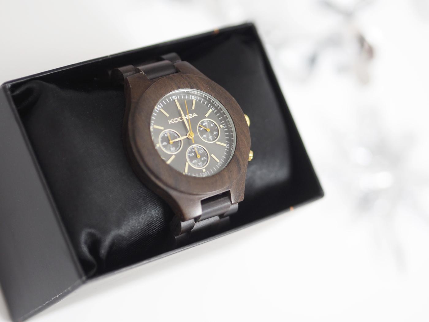 kochiba wooden watch