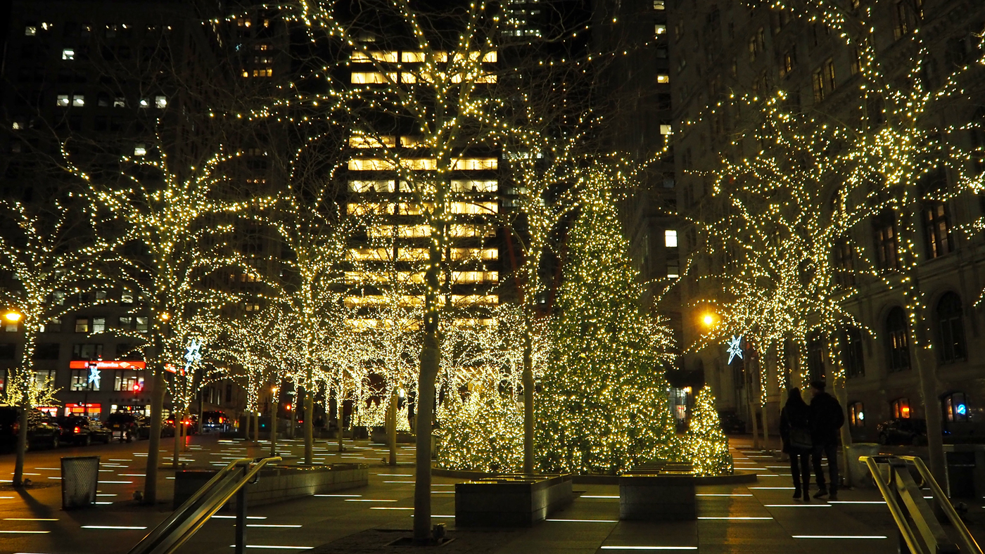 NYC AT CHRISTMAS