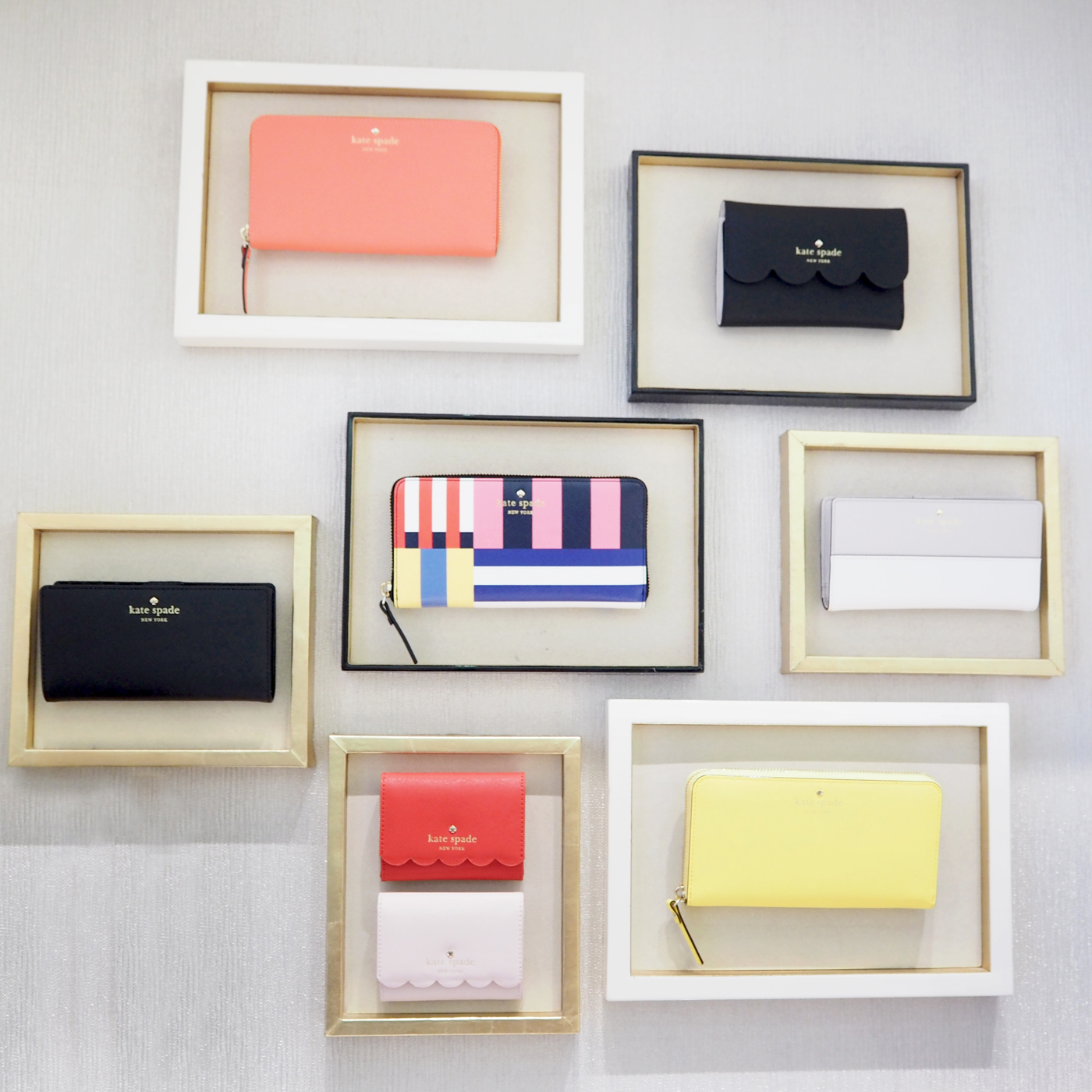 KATE SPADE MADISON NYC STORE WALL DISPLAY