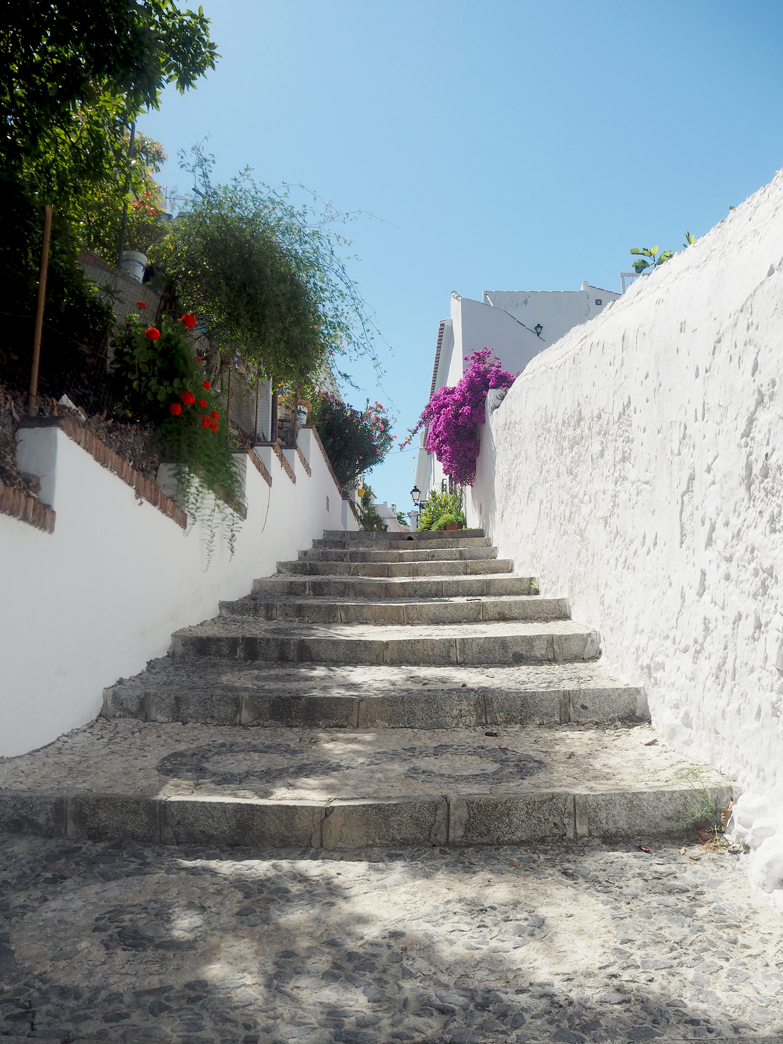 steps of frigiliana spain