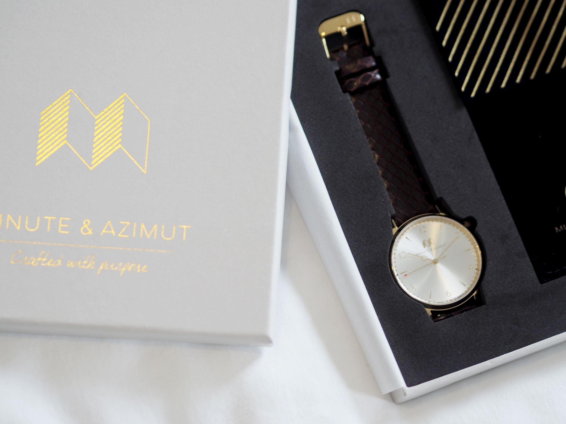 MINUTE & AZUMIT WATCH