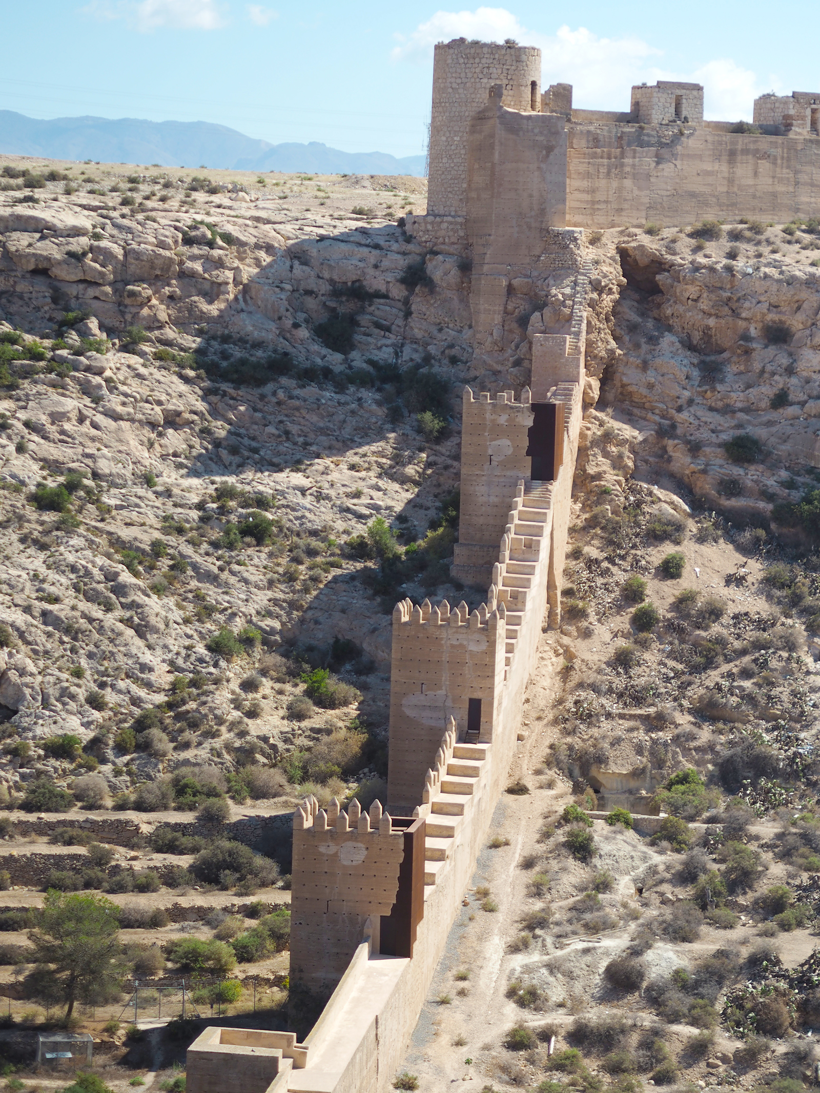 moorish castle almeria