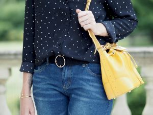 radley handbag yellow