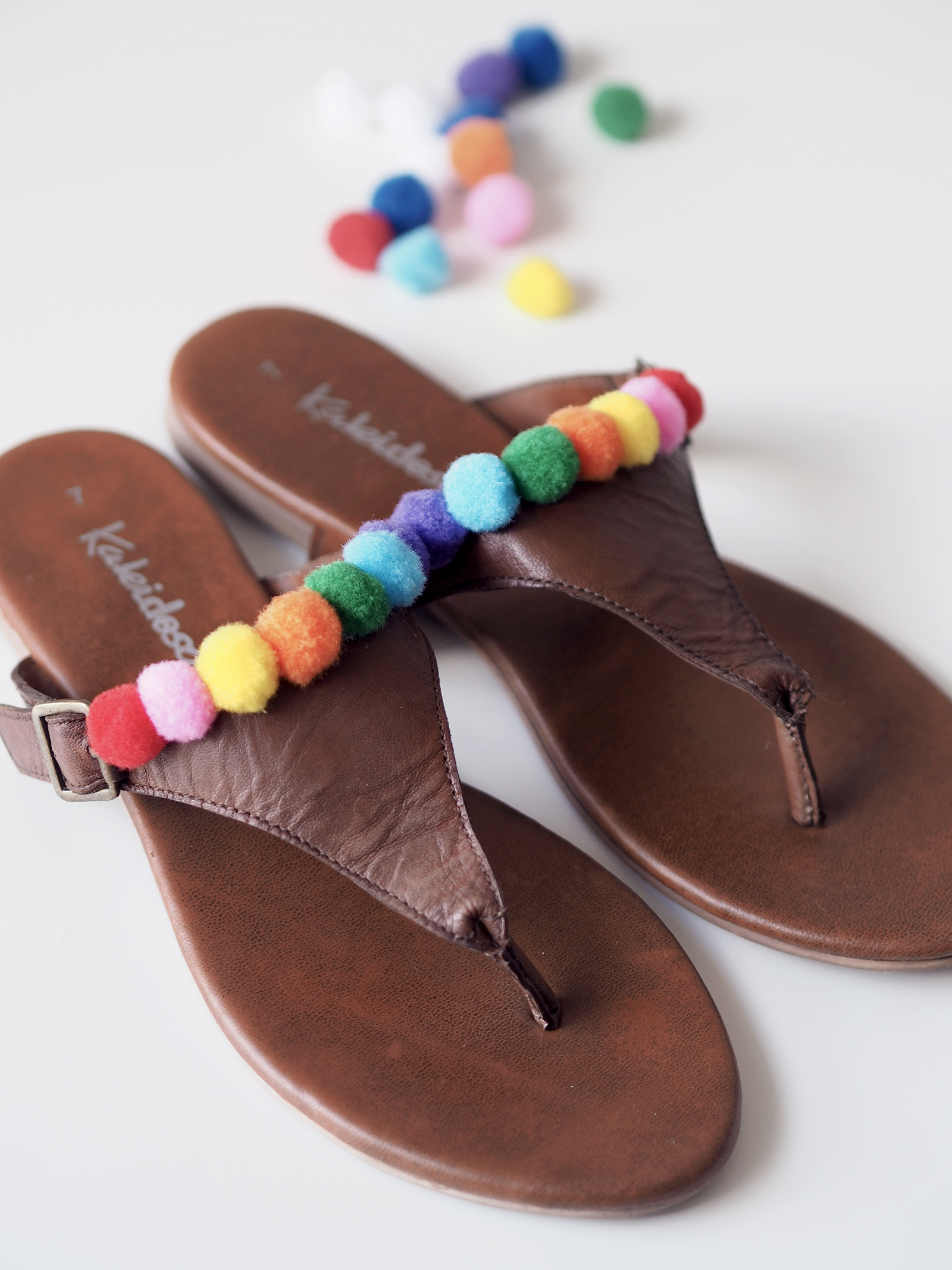 How to Make Hot Glue Sandals