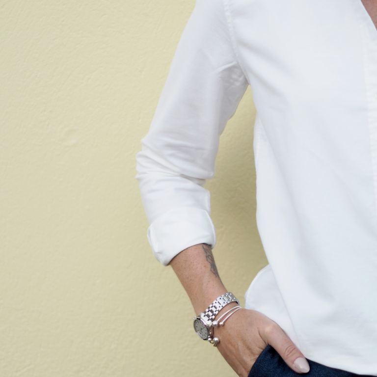 gant white oxford shirt