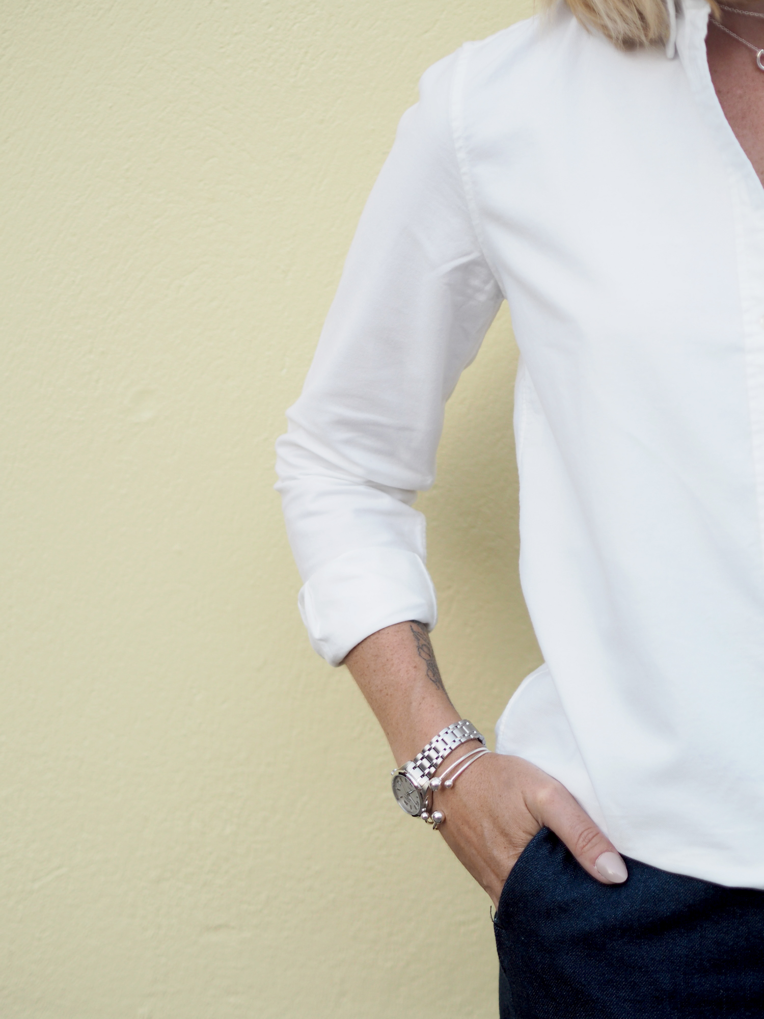 gant white oxford shirt