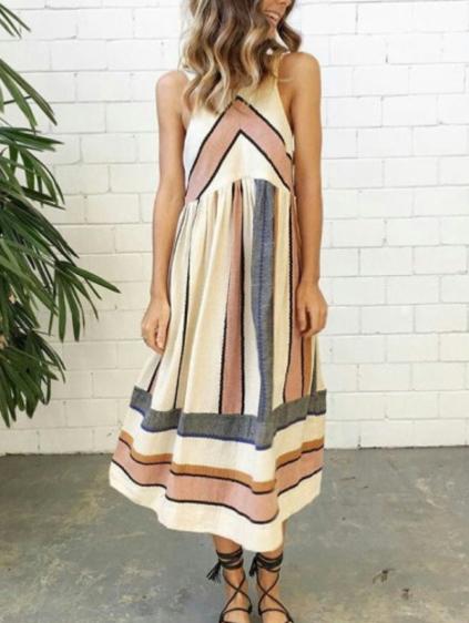 ROMWE STRIPED DRESS