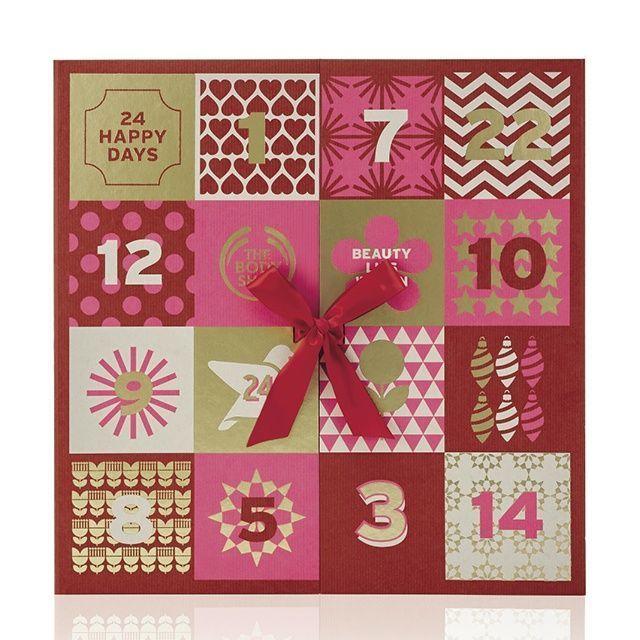 Body shop 24 days happy advent calendar