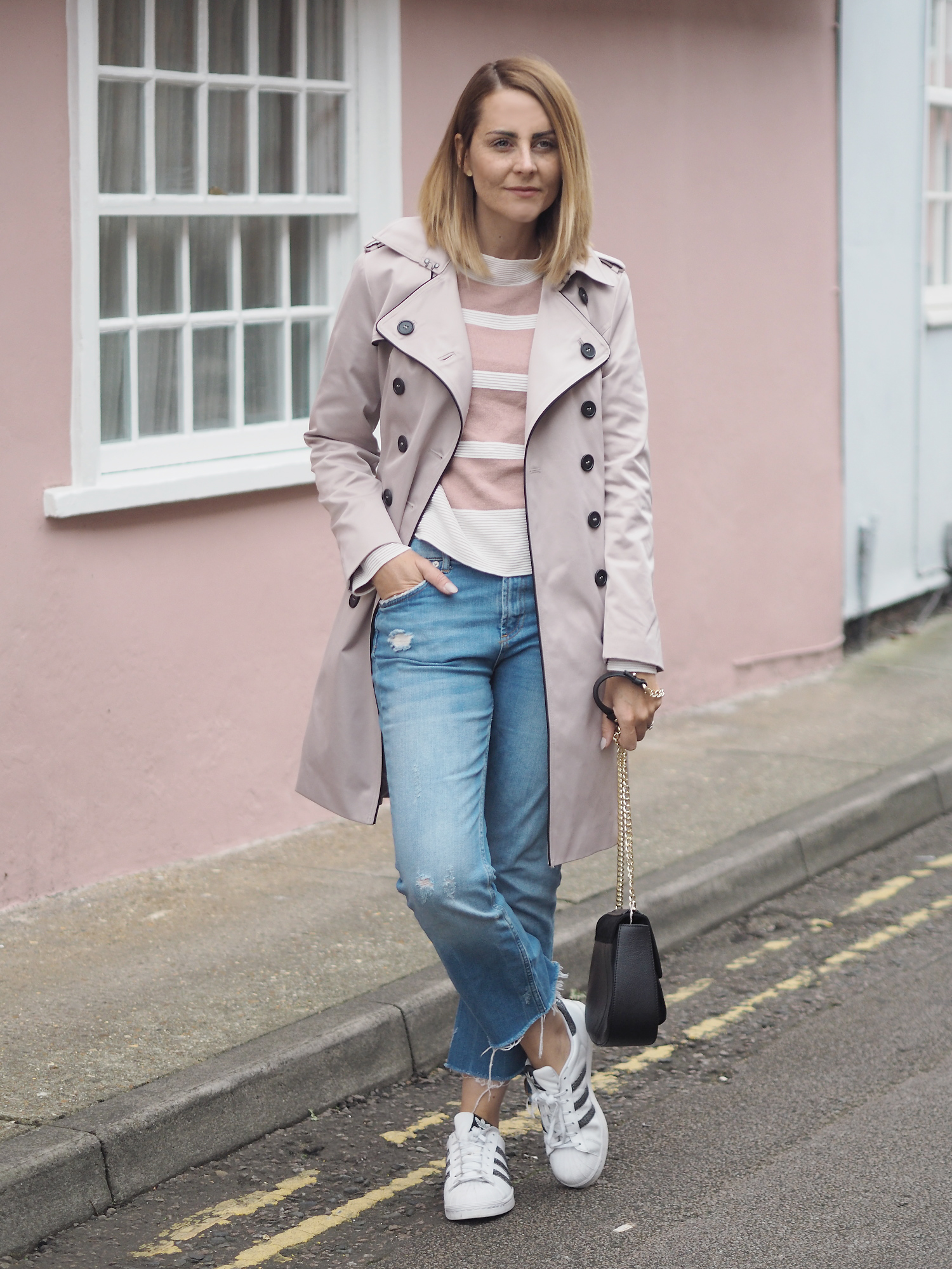 Jacques vert mac outfit scasual look with jeans