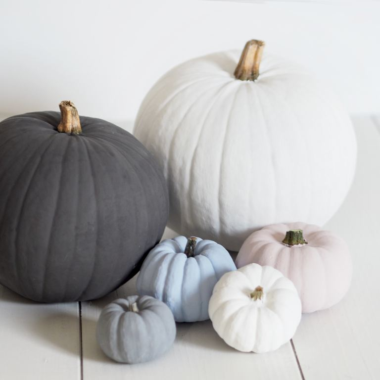 painted pumpkins hallowween