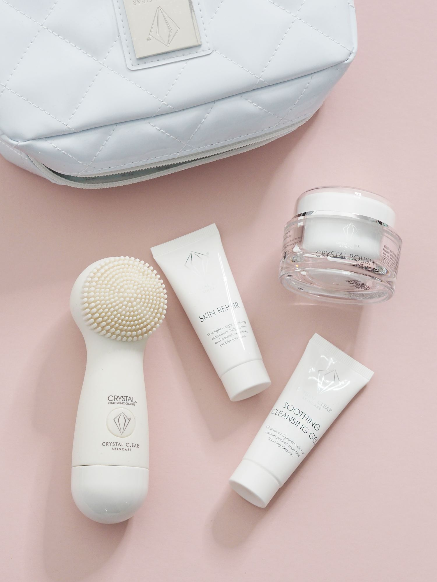 crystal clear cleansing brush