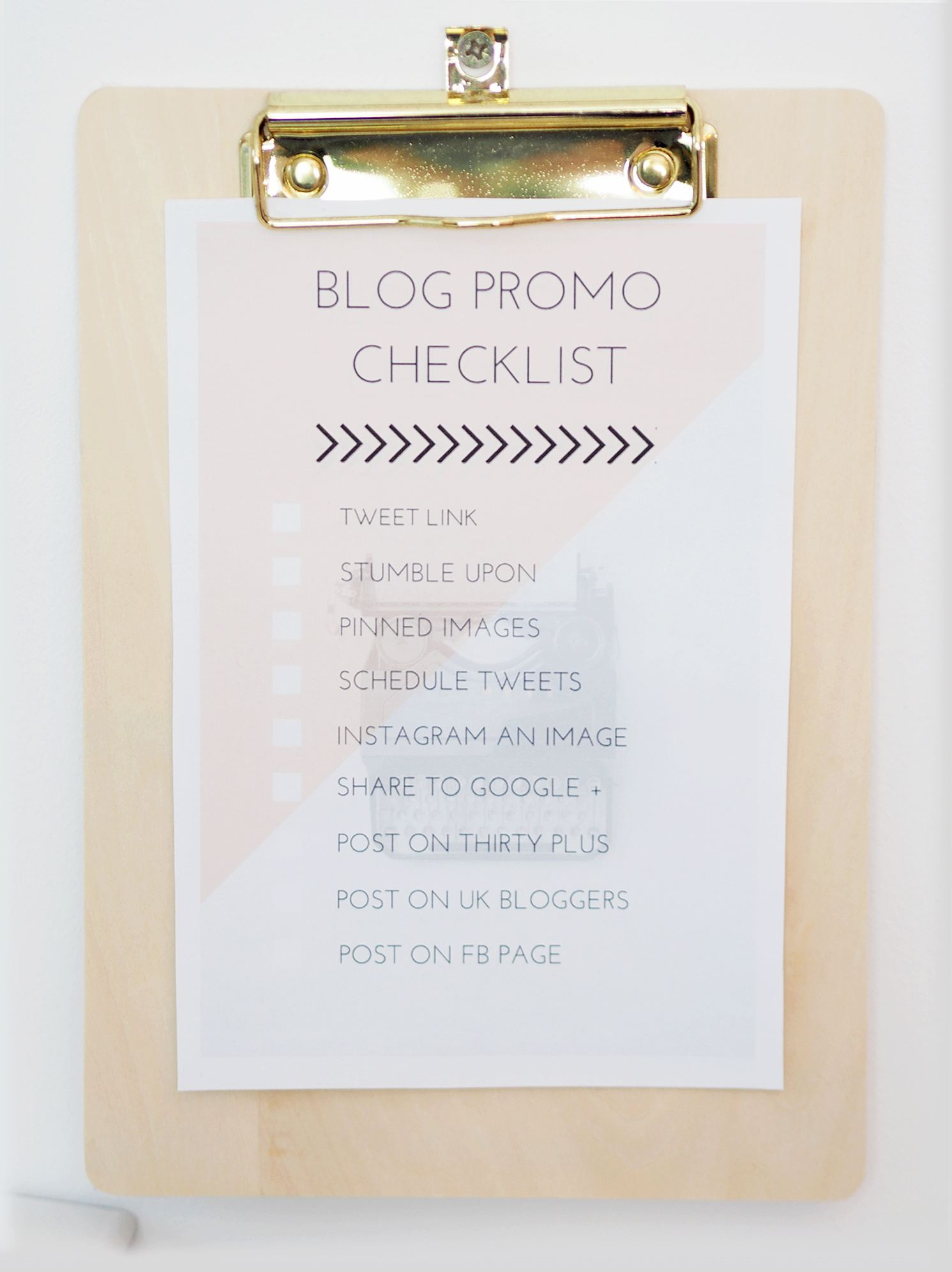 blog tick checklists