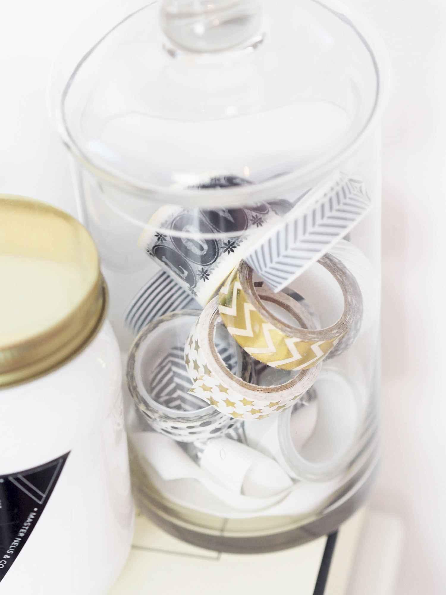 primark candle and glass storage jar