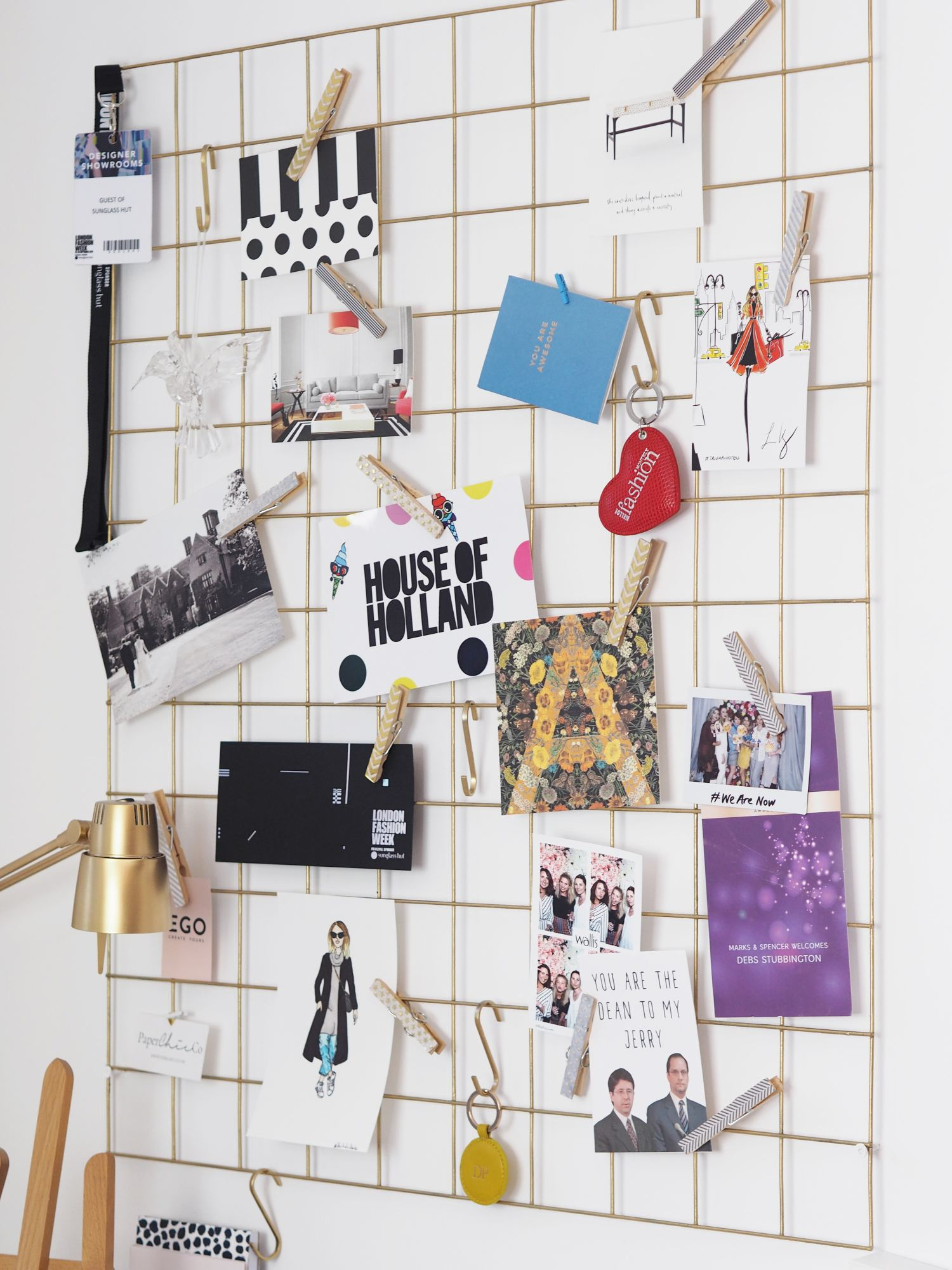 home office mesh noticeboards