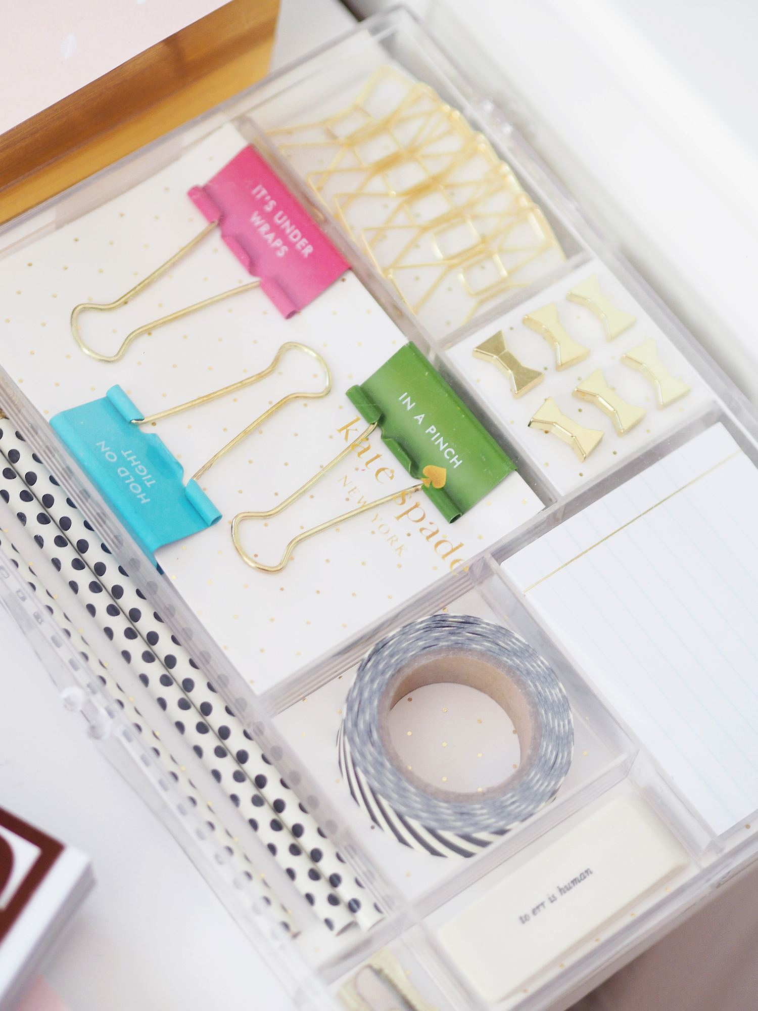 kate spade stationery set