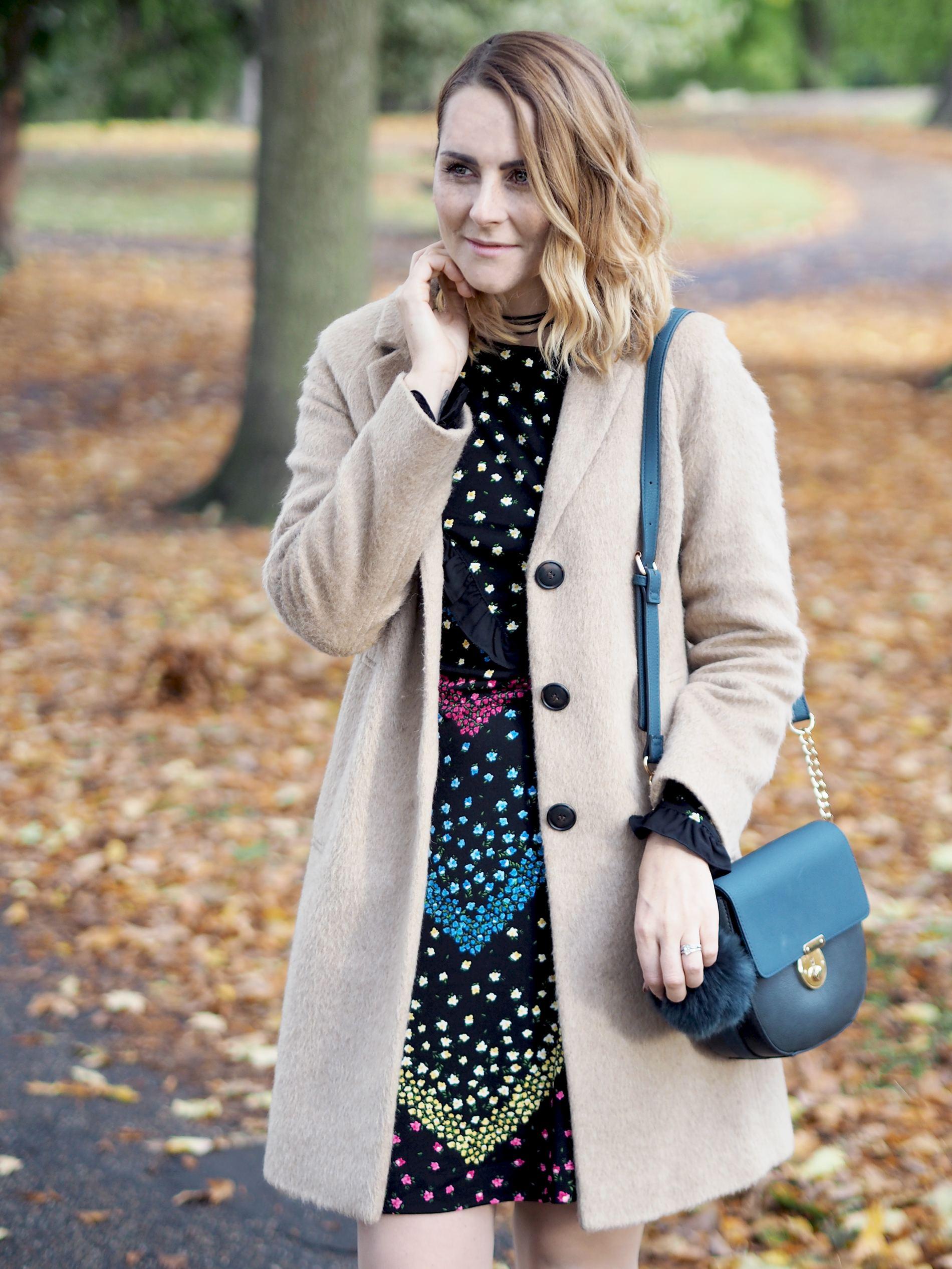 wear florals in autumn