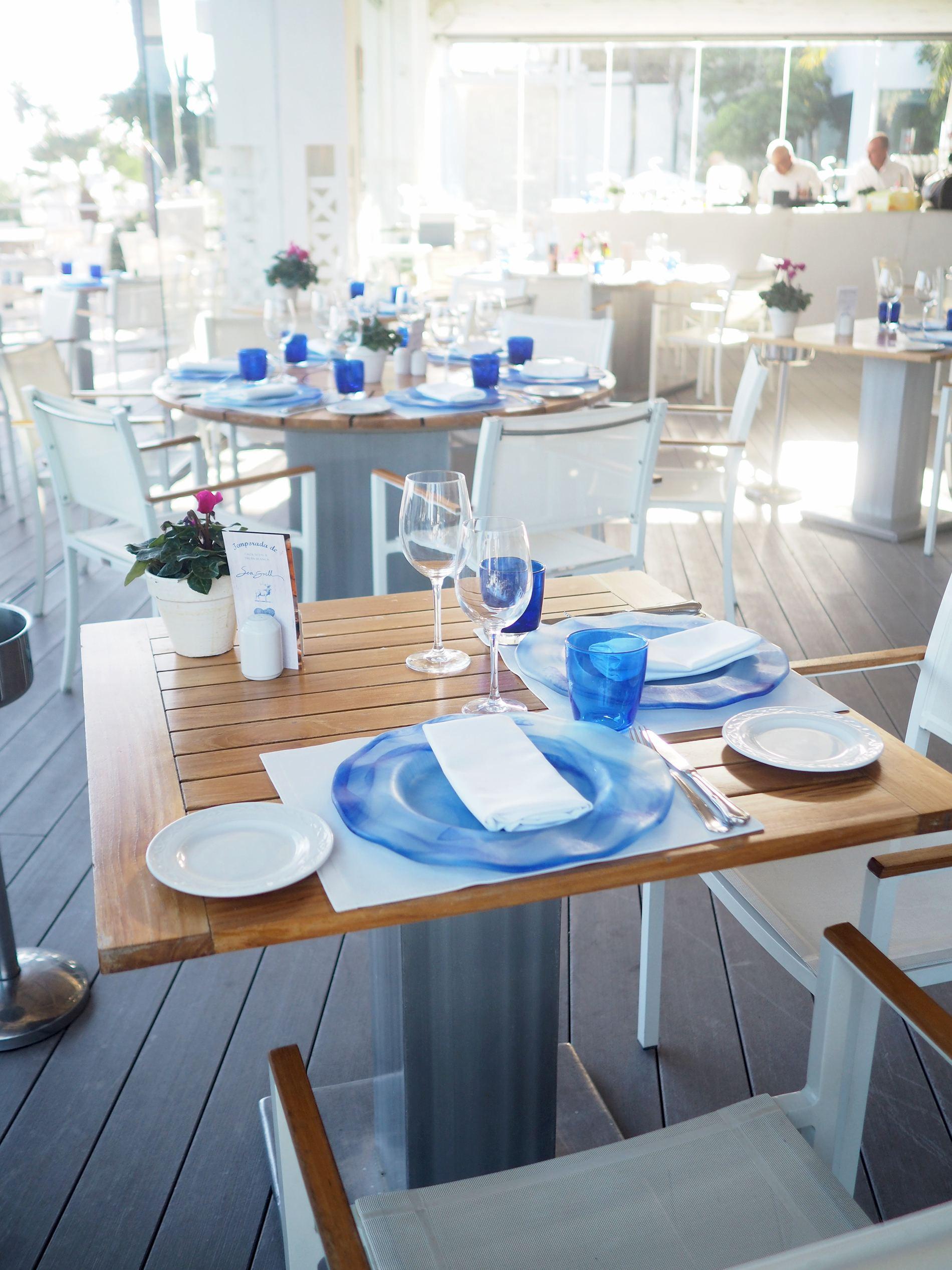 puente romano resort marbella sea grill restaurant
