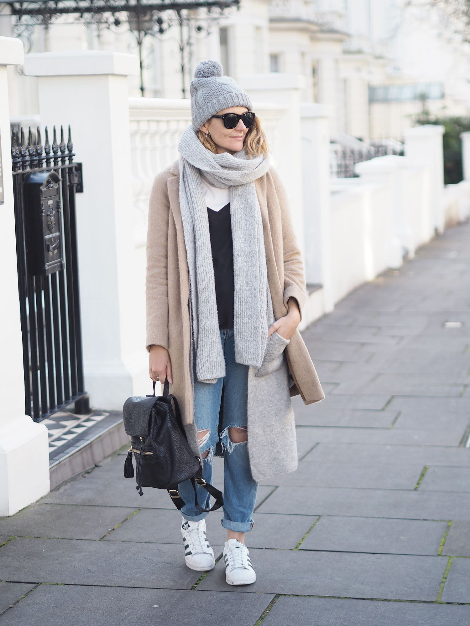 layer your outfit for winter