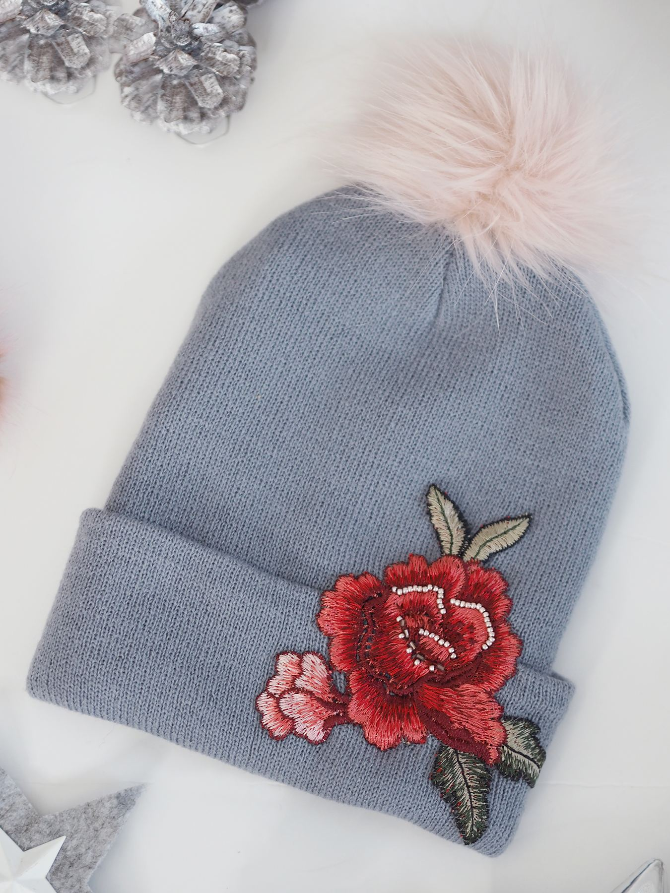 BANG ON BOUTIQUE embroidered hat