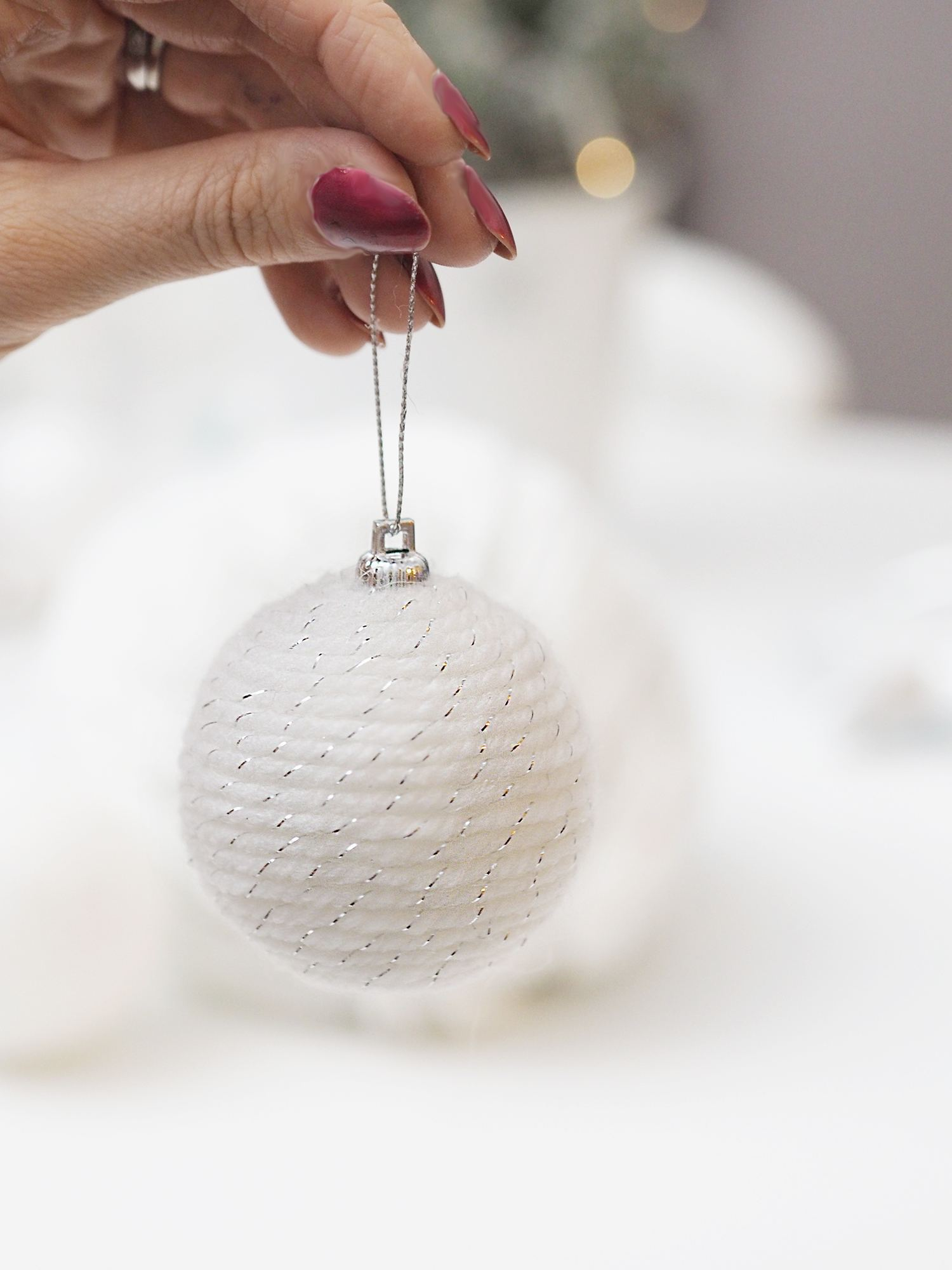 DIY christmas bauble