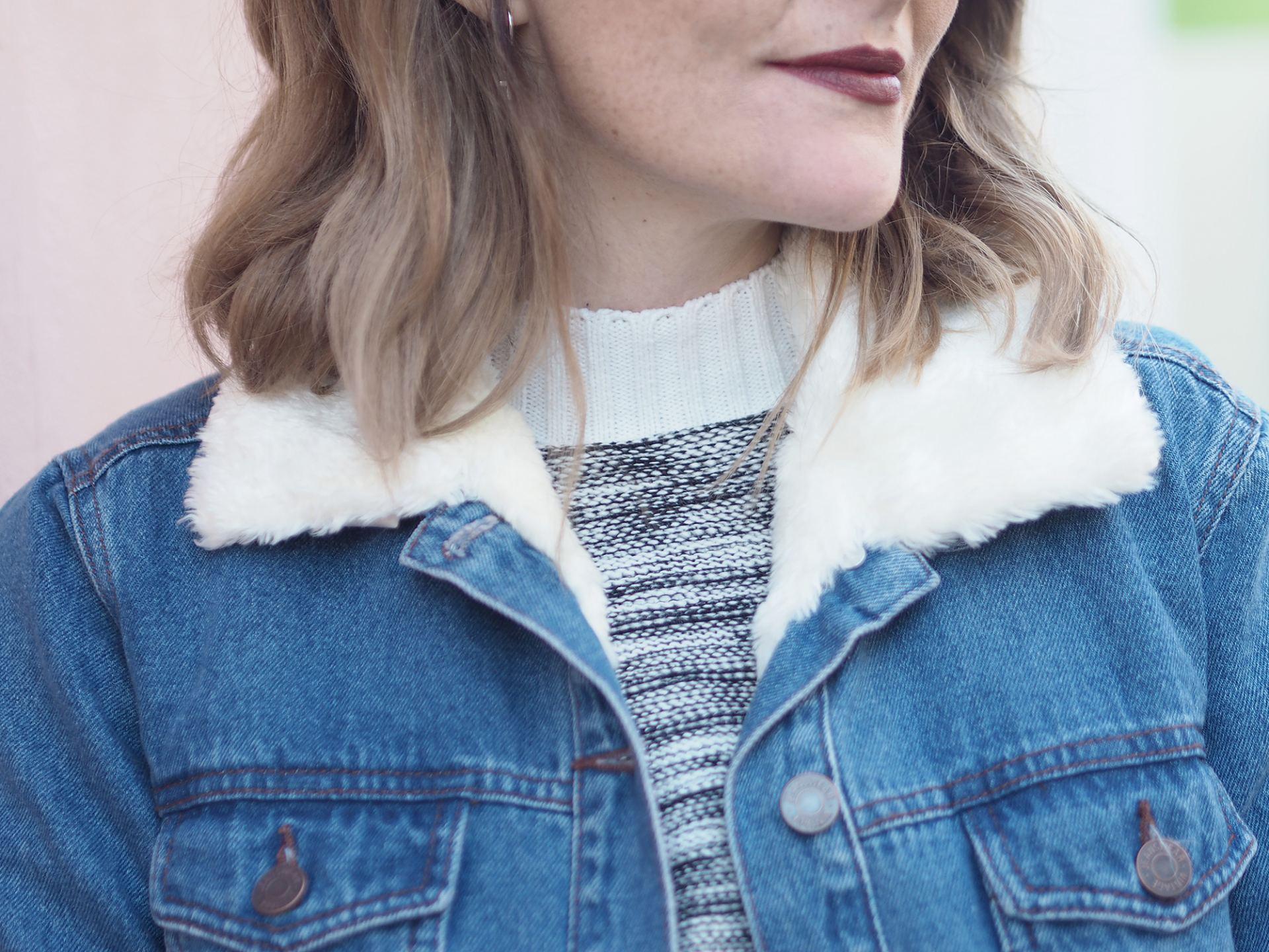denim jacket winter