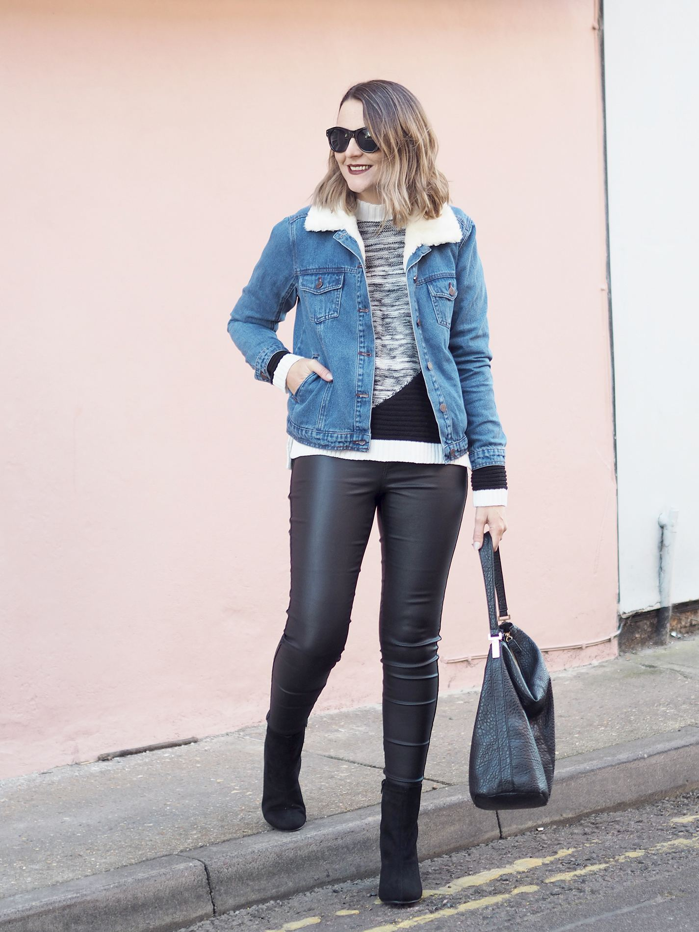 denim jacket for winter
