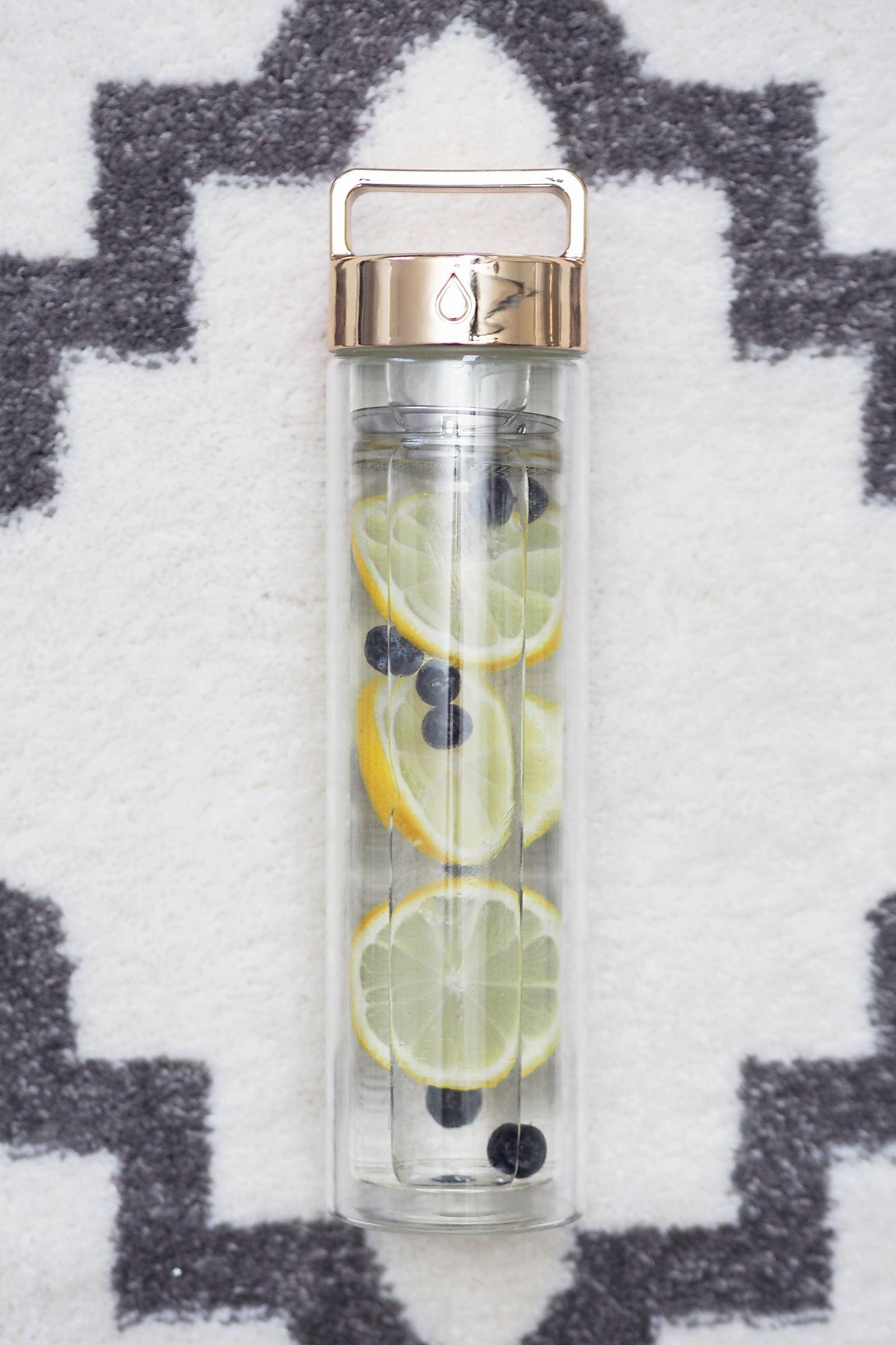 drop bottle infuser water bottle