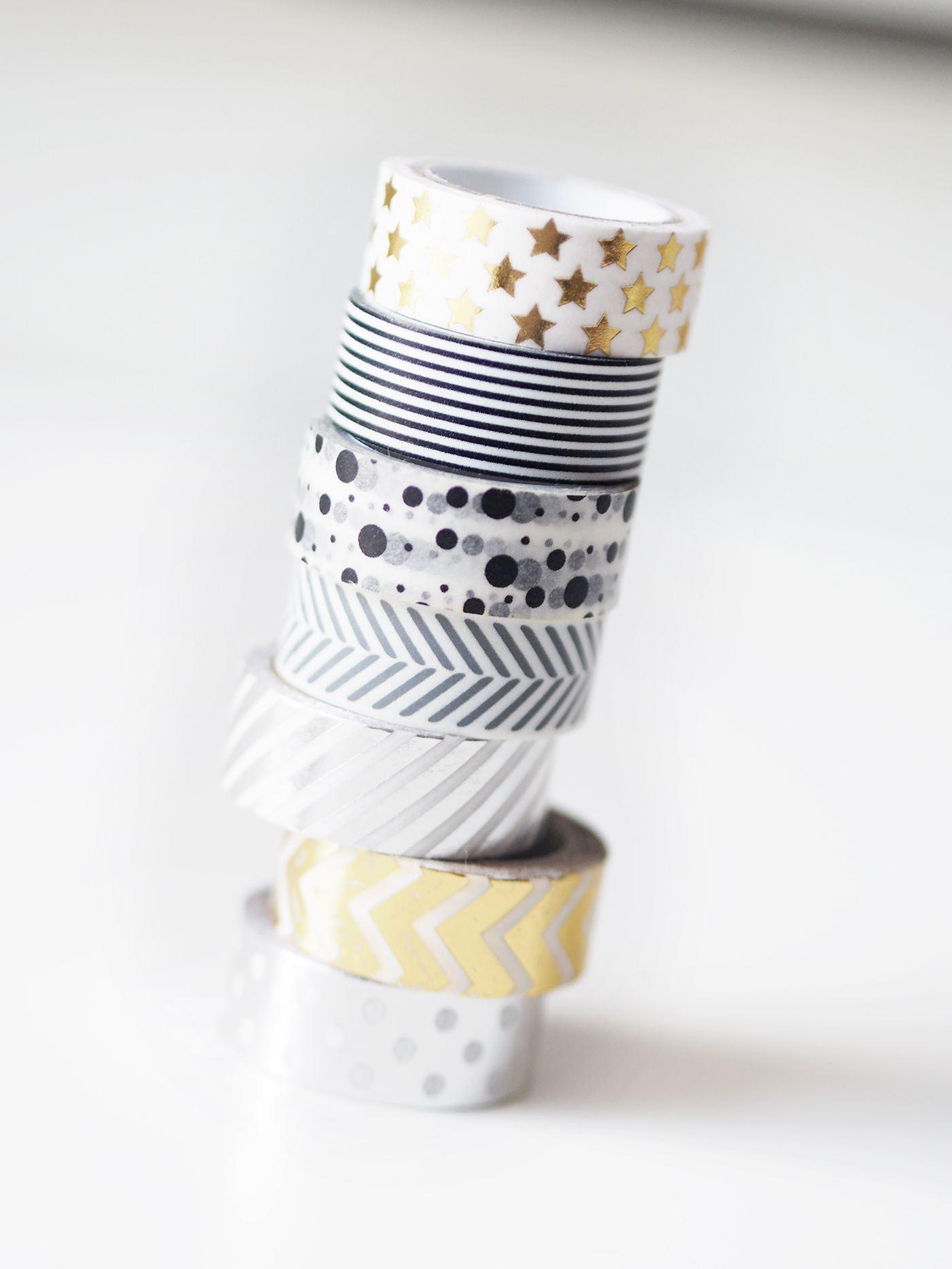 washi tape DIY