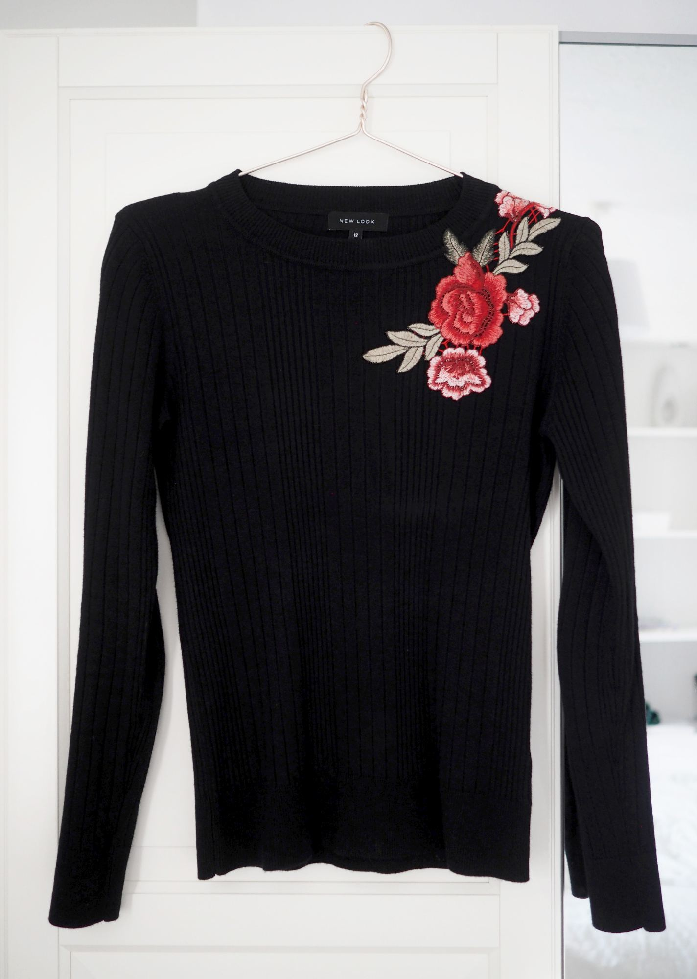 embroidered top DIY