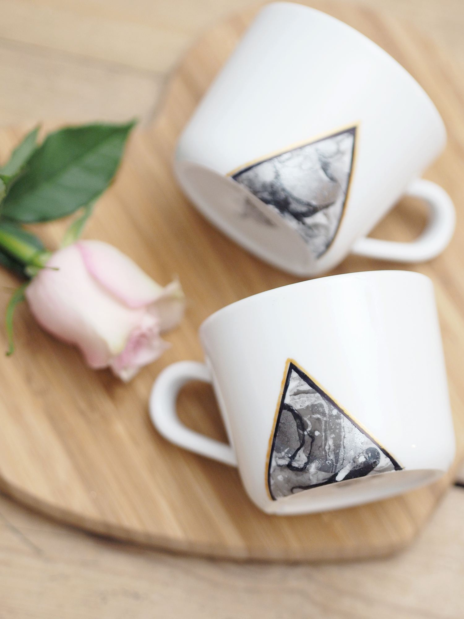 easy diy valentines gifts marble cups tutorial
