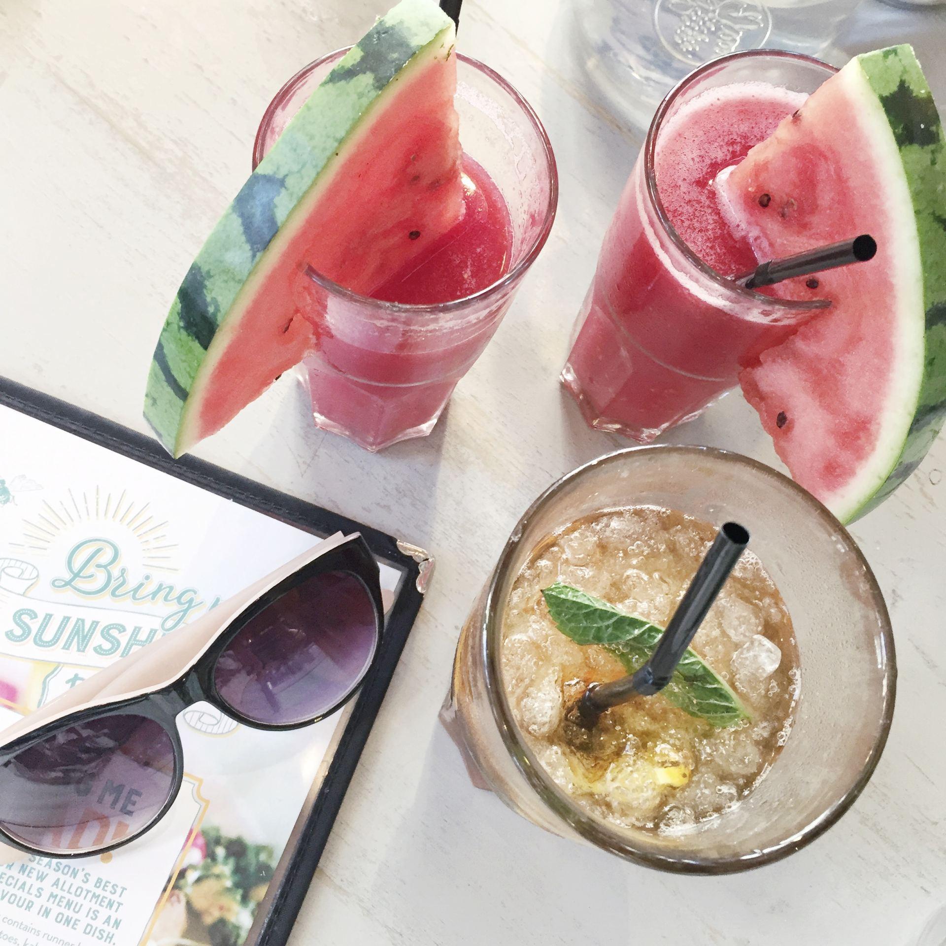 bills watermelon cooler summer drinks