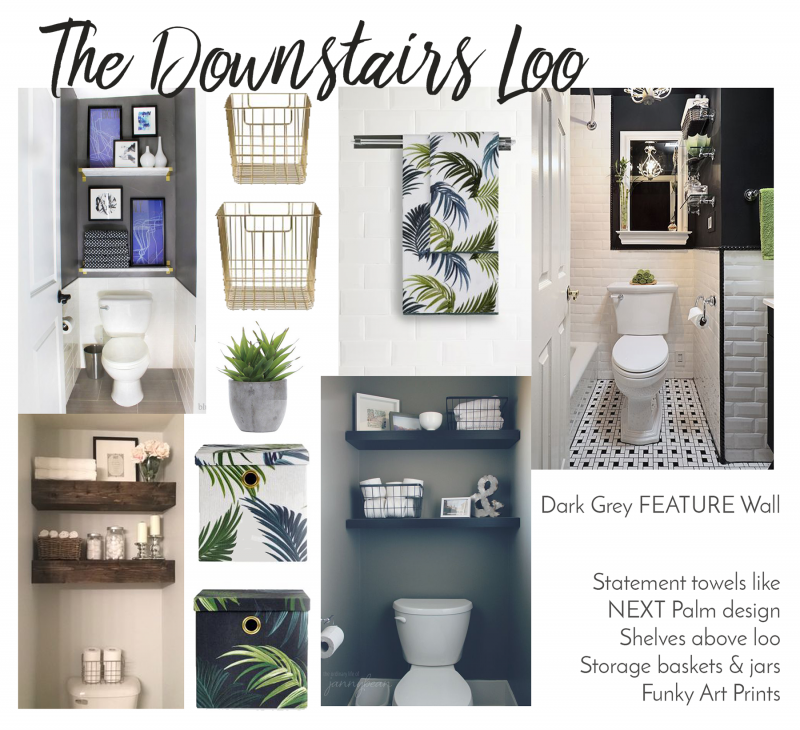 sc 1 st  Bang on Style & The Home Diaries | Downstairs Toilet ideas - Bang on Style