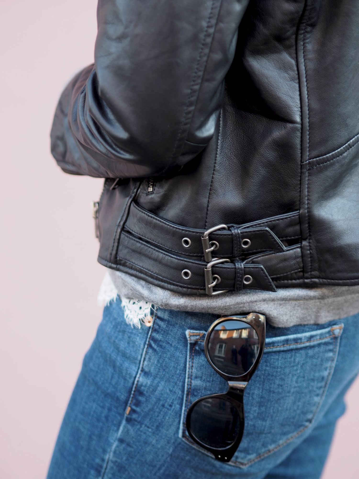 la redoute leather jacket