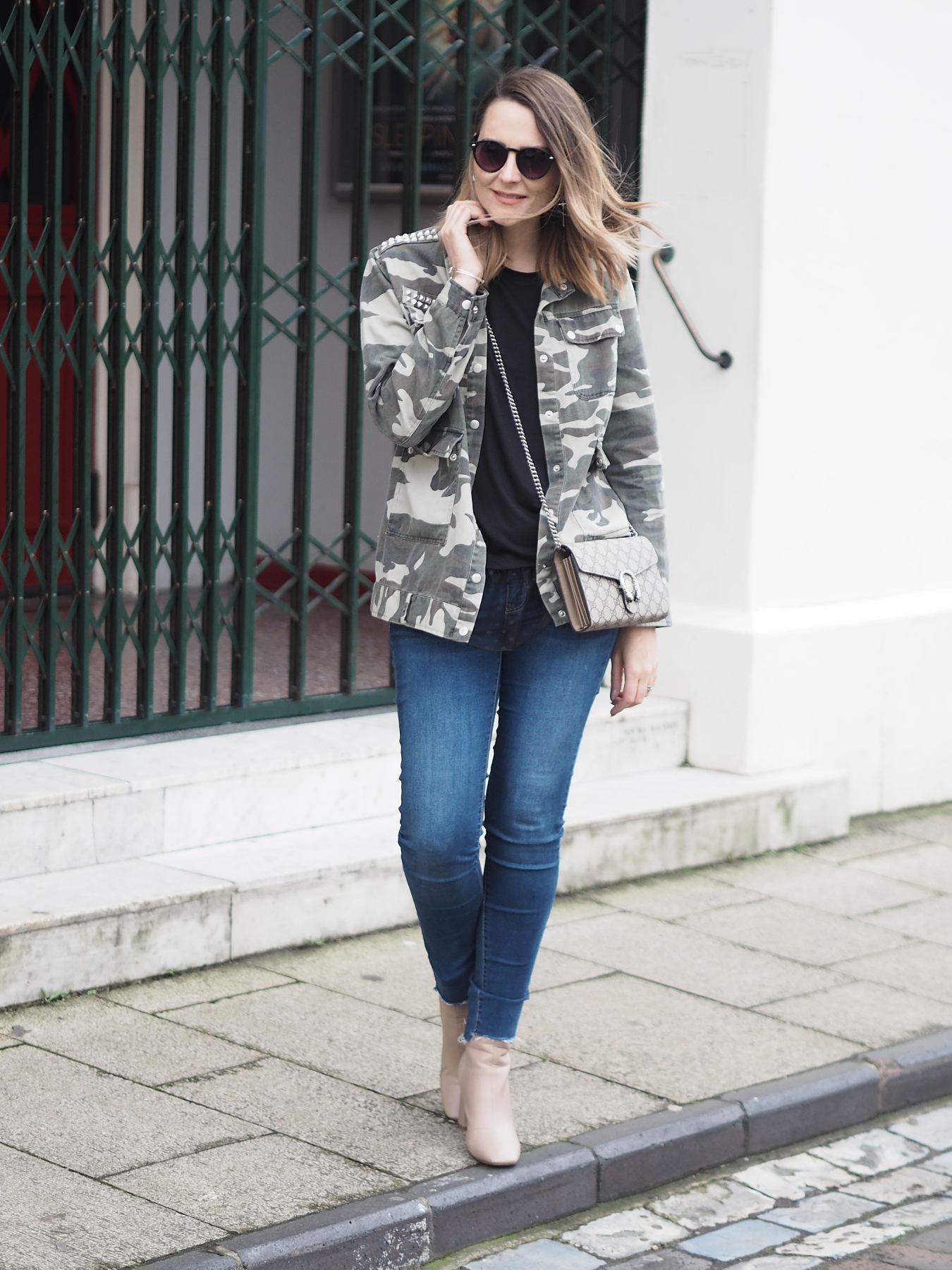 camouflage jackets jacket and jeans outfit