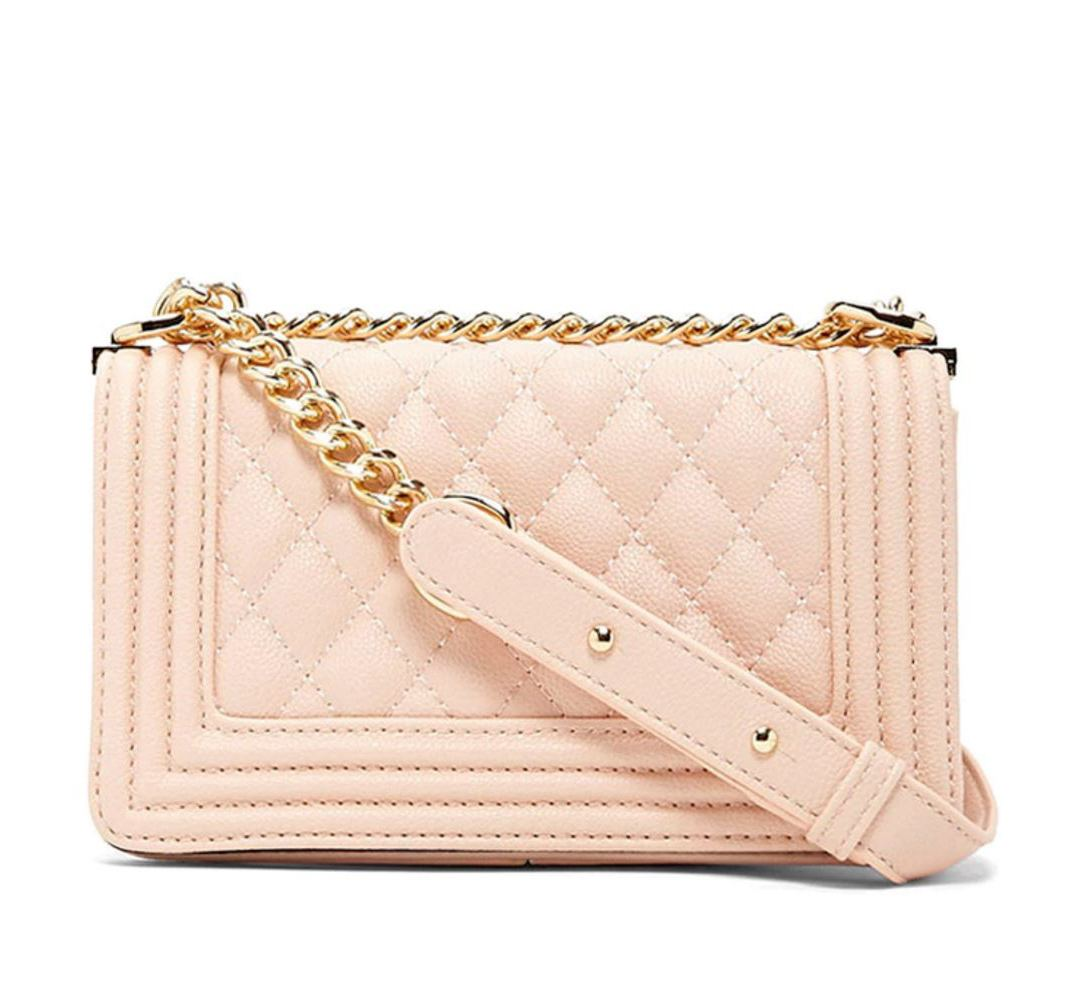 pink chanel boy dupe