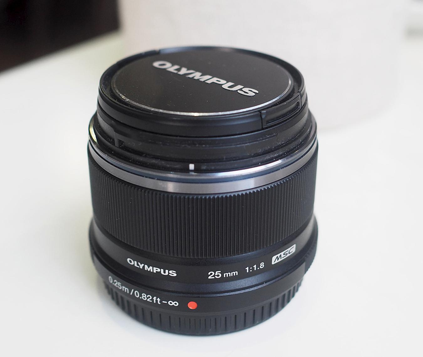 olympus pen camera lens