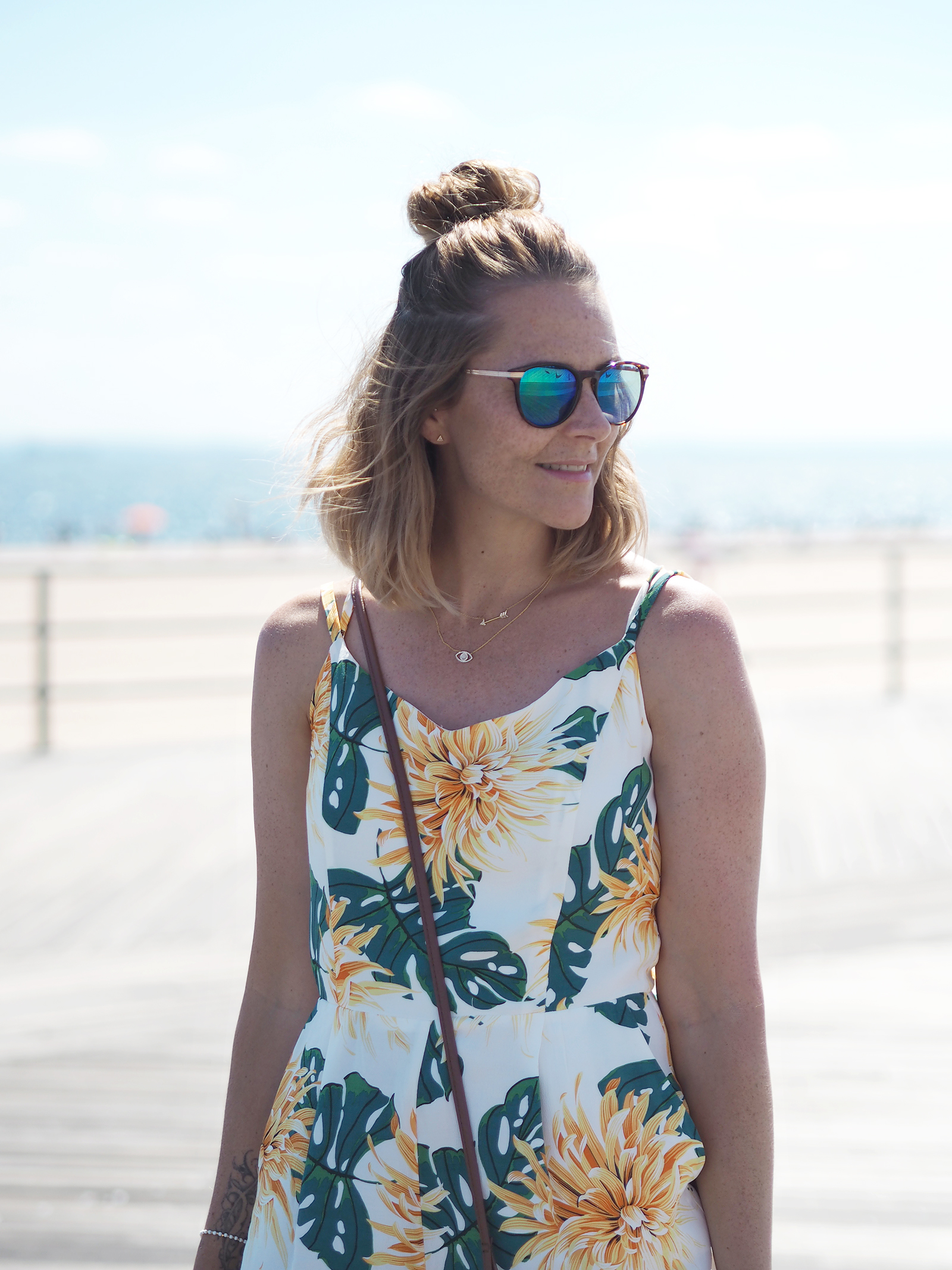 Zara jumpsuit summer outfit new york