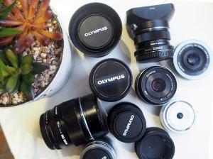 olympus pens lens
