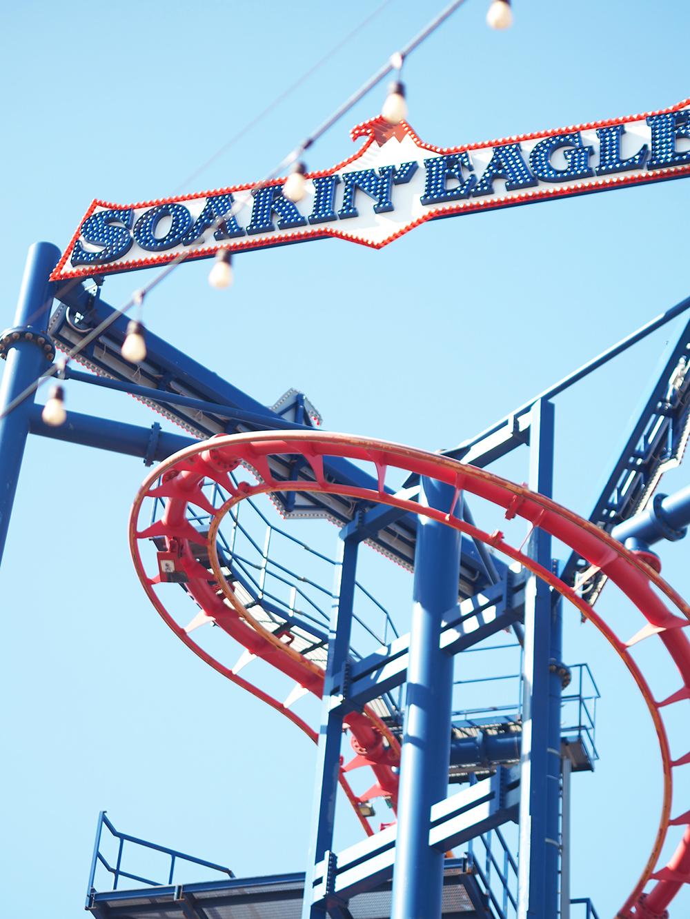 Coney Island funfair soaring eagle